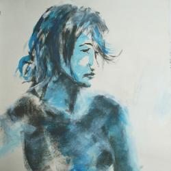 Bleu Portrait